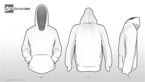 Hoodie Template For Competition By Nickybrenzel On Deviantart Hoodie Design Template Free