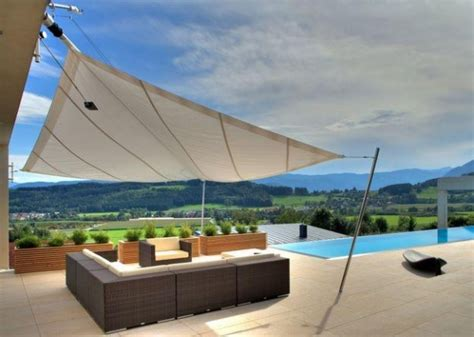 Triangular Awning by Patio Awning Individual Solutions For Sun Shading