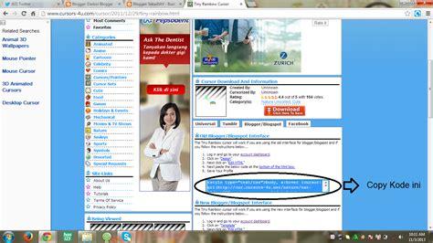 membuat blogspot menjadi com gratis sekarday cara membuat cusor bada blog menjadi unik