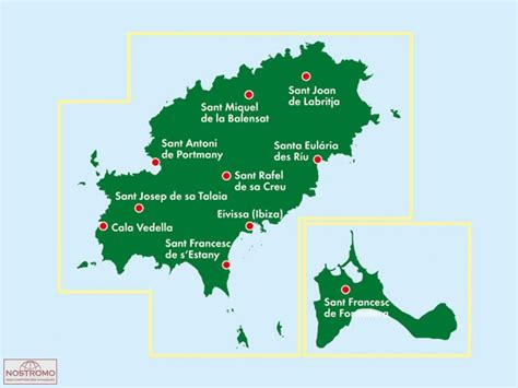 0004488962 carte touristique ibiza and ibiza formentera carte touristique freytag berndt