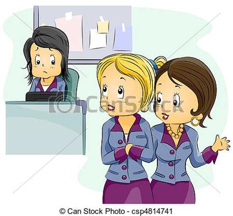 office gossip auf deutsch office gossip illustration featuring employees gossiping