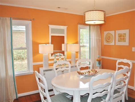 orange dining rooms 10 paint color ideas for beautiful dining room interior