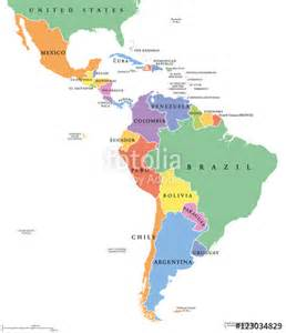 map of south america including mexico america map