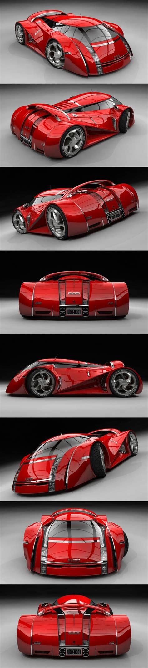 real futuristic cars concept car rouge ubo now th 236 s is a real concept car