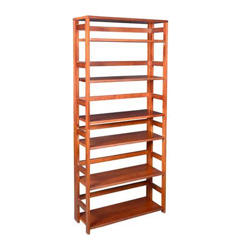 folding bookcase ebern designs reanna 3 shelf folding