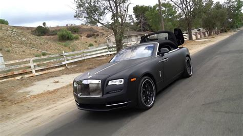 matte red rolls royce forgiato rolls royce dawn matte black youtube