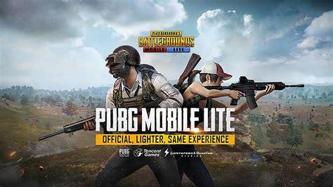 pubg lite pubg mobile lite เตร ยมปล อยดาวน โหลด สำหร บสมาร ทโฟนระด บ