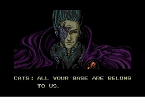 All Your Base Are Belong To Us Meme - 25 best memes about all your base all your base memes