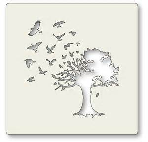 tree stencil tree stencil pictures to pin on pinsdaddy