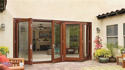 sliding folding patio doors folding patio doors