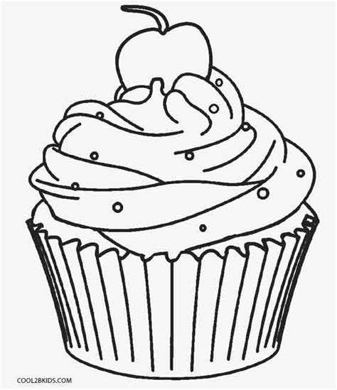 Cupcakes Coloring Sheets Free Printable Cupcake Coloring Pages For Kids Cool2bkids House Free Printable Pictures