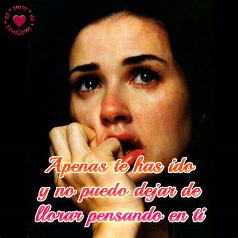 imagenes de mujeres llorando con frases desgarradora imagen de mujer llorando con frase de despedida