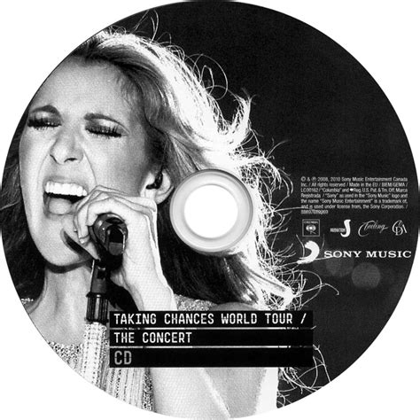 Cd Dion Taking Chances World The Concert car 225 tula cd de dion taking chances world tour