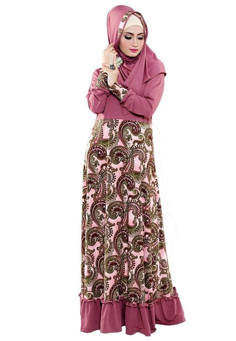 gambar desain long dress batik baju batik muslim www imgkid com the image kid has it