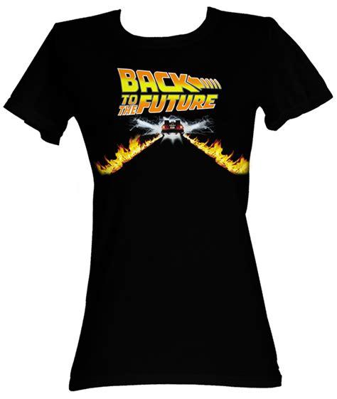 Tees Kaos T Shirt Future back to the future juniors t shirt btf car black shirt