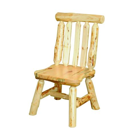Pine Dining Chairs Knotty Pine Dining Chair Amish Crafted Furniture