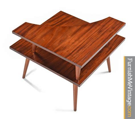mid century modern corner table mid century modern corner table
