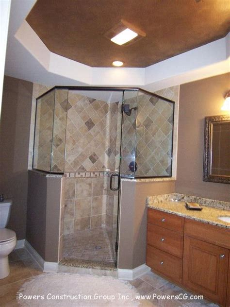Bathroom Corner Shower Ideas Bathrooms With Corner Showers Corner Shower Bathrooms Toilets Shower Tiles