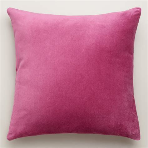 Velvet Throw Pillows Quartz Velvet Throw Pillows World Market