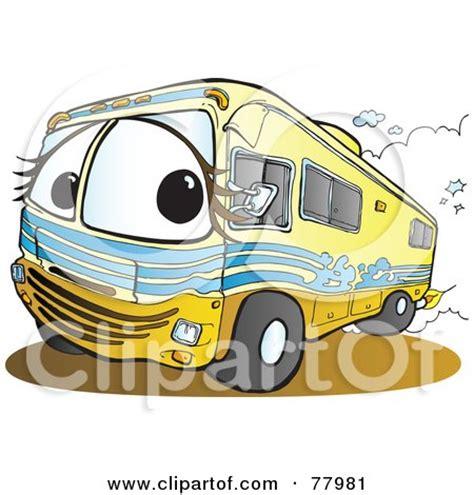 cartoon backing up boat cartoon white man backing up a class c motorhome and