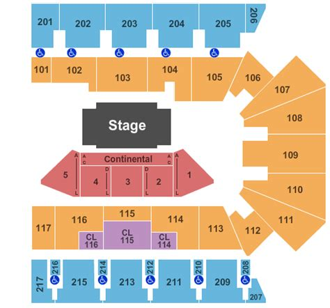 american bank center rodeo seating chart cooper corpus christi tickets 2017 cooper