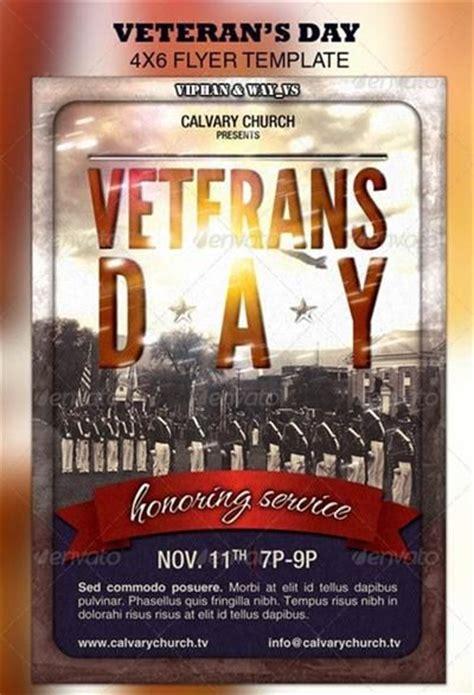 Psd Template Veterans Day Church Flyer Psd Templates Pinterest Veterans Day Flyers And Veterans Day Program Template