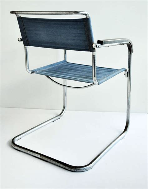 Breuer Armchair by Marcel Breuer Tubular Steel Armchair For Thonet Bauhaus At 1stdibs