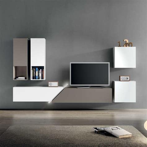 modern bespoke italian wall tv unit by santarossa