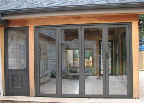 Wall Of Glass Doors Folding Doors Glass Folding Doors For Sunrooms