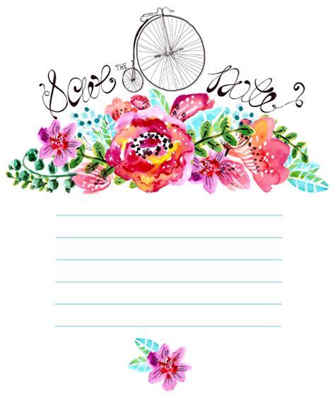 free vector watercolor flowers watercolor flower wedding invitation vector graphics 01