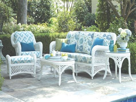 patio white wicker patio furniture home interior design