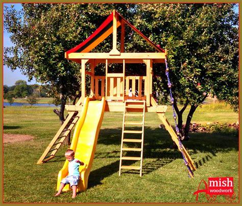 swing lifesytle swing sets 187 amish woodwork