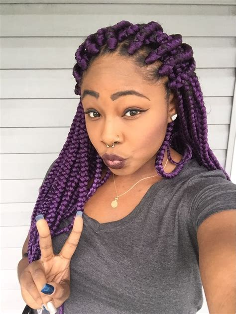 big braids in dark colours for blackwoman pin by the cat s meow on braids twists and dreadlocks