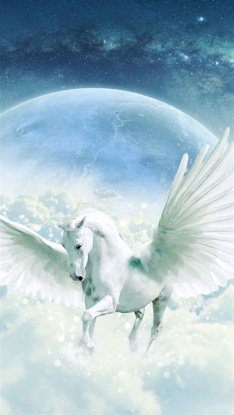 wallpaper unicorn guardian hd  creative graphics