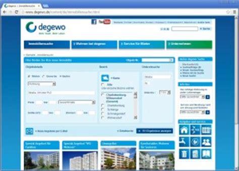 immo suche degewo webseite und umfangreiche immobiliensuche