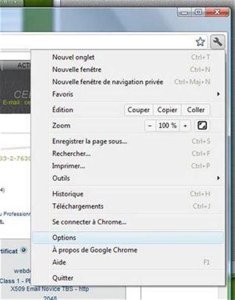 install google certificate install a client certificate in google chrome