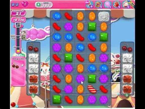 candy crush saga level 181 | doovi
