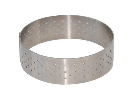 cercle tarte 20 5 cm inox sans fond ecole valrhona de