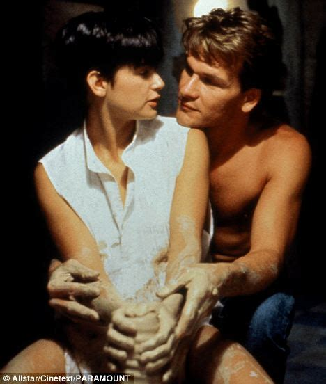 ghost film kiss patrick swayze the best love scenes don t need what i
