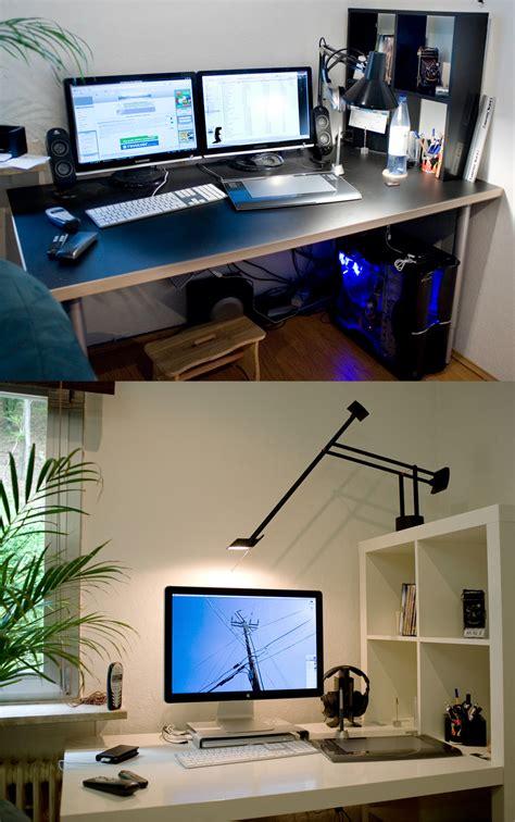 Schreibtisch Vorher Nachher Hardware Galerie
