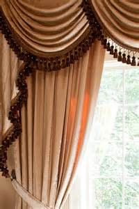 Swag Valance Curtains Picture Of Pearl Dahlia Classic Overlapping Style