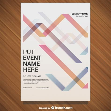 layout poster vector event poster template vector free download