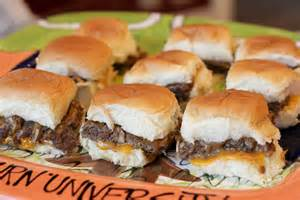Gameday sliders normal cooking