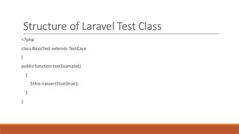tutorial php unit testing phpunit laravel laravel unit testing