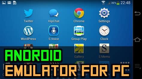 pc android emulator 10 android emulators for pc mac and linux