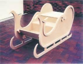 wooden sleigh plans  woodworking