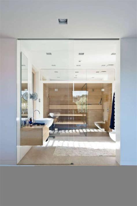 moderne sauna luxe moderne badkamer met sauna badkamers voorbeelden