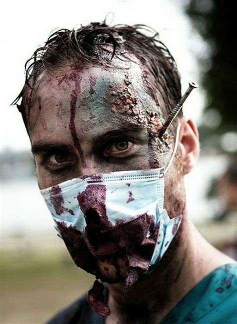 bold halloween makeup ideas  men styleoholic