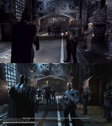 Batman Arkham Ps4 Original batman return to arkham ps3 vs ps4 comparison gamereactor uk