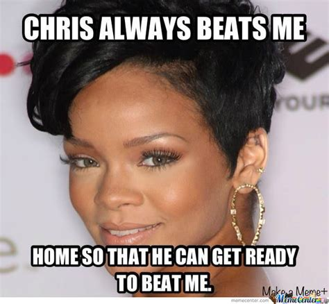 Memes Rihanna - rihanna and chris brown by jakubrocks meme center